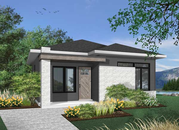 Modern Style Home Design 5-1319
