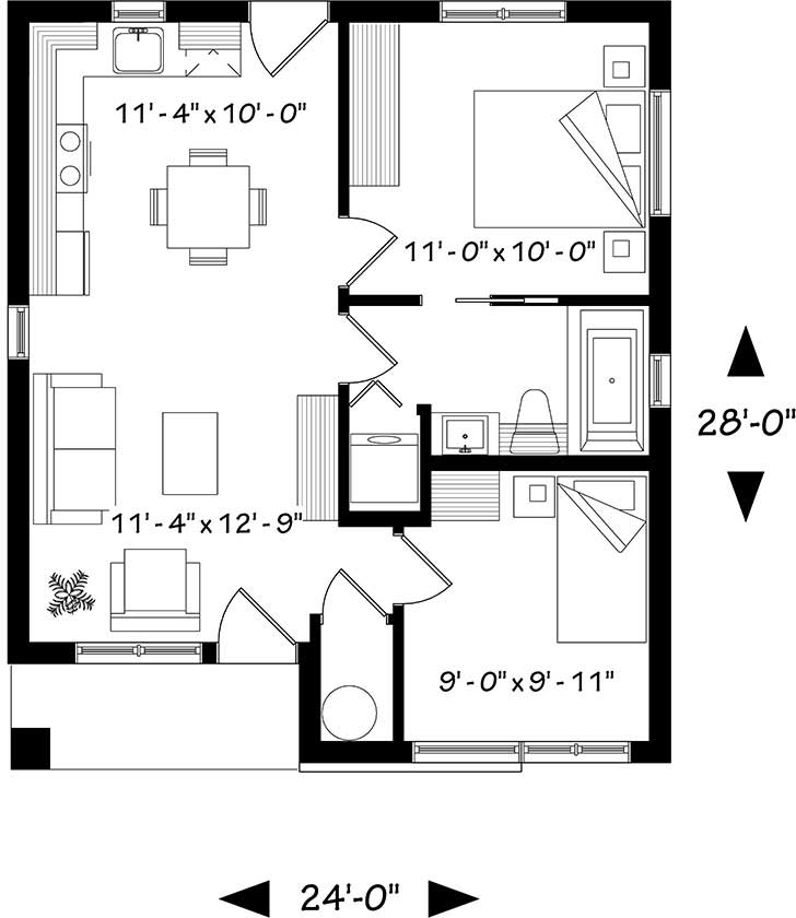 Main Floor Plan: 5-1319