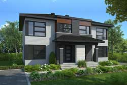 Modern Style Floor Plans Plan: 5-1327