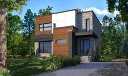 Modern Style House Plans Plan: 5-1332
