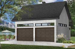 Traditional Style Home Design Plan: 5-1339