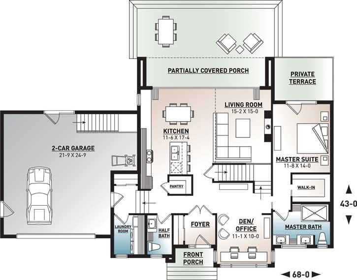 Main Floor Plan: 5-1354