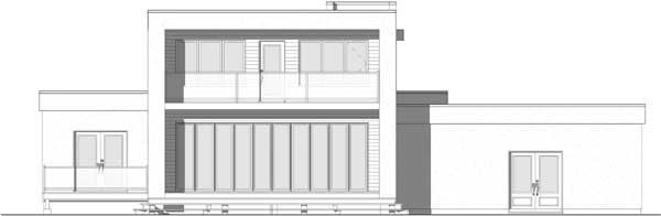 Rear Elevation Plan: 5-1354