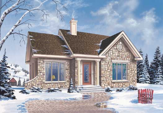 Traditional Style Floor Plans 5-136