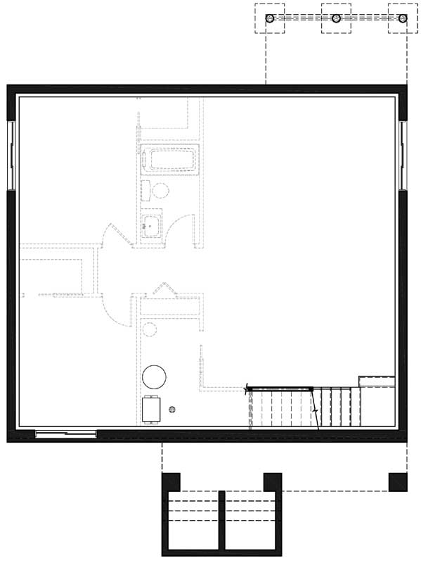 Lower Floor Plan: 5-1367