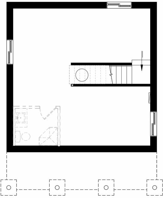 Lower Floor Plan: 5-1370