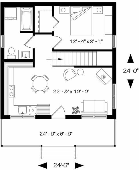 Main Floor Plan: 5-1370
