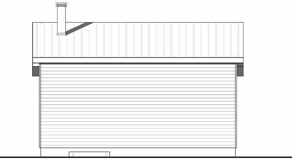 Rear Elevations Plan:5-1370