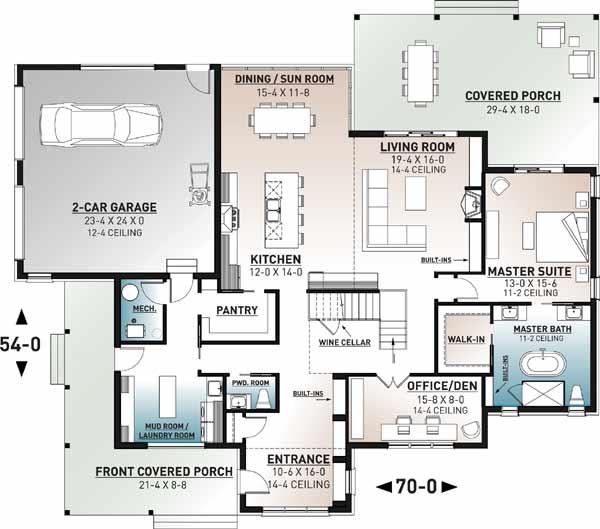 Main Floor Plan: 5-1372