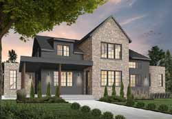 Modern-Farmhouse Style House Plans 5-1372