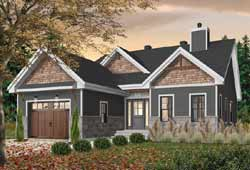 Craftsman Style Floor Plans Plan: 5-1374