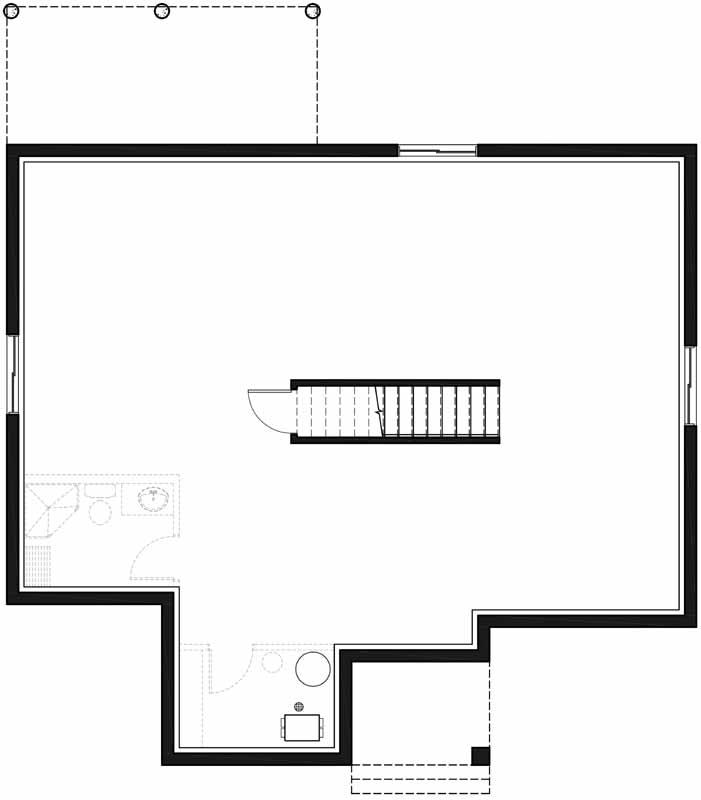 Lower Floor Plan: 5-1376