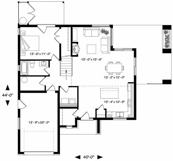 Main Floor Plan: 5-1377