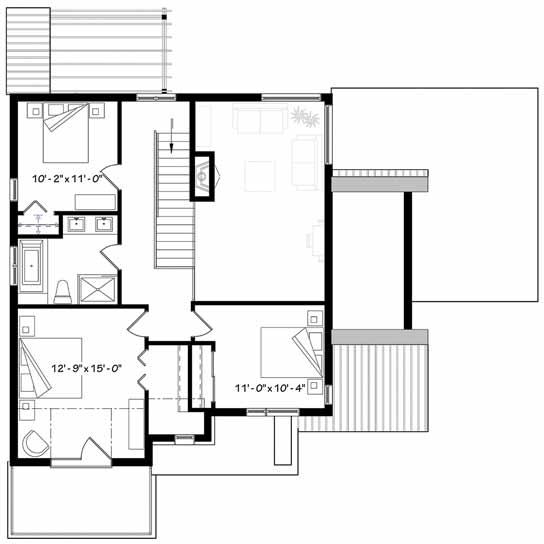 Upper/Second Floor Plan: 5-1377