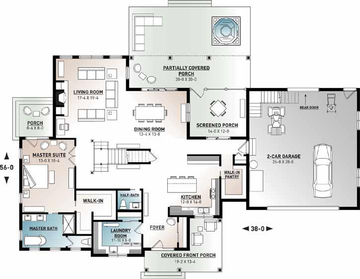 Main Floor Plan: 5-1379