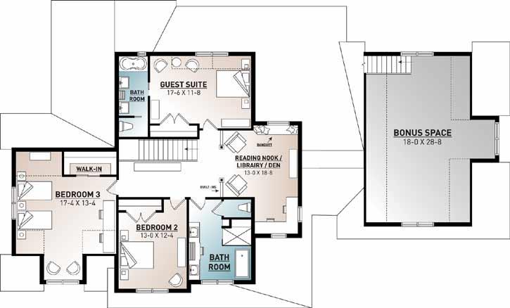 Upper/Second Floor Plan: 5-1379