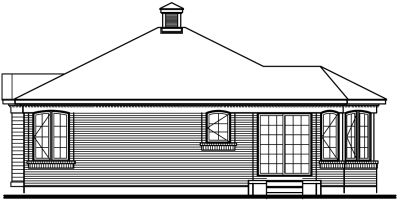 Rear Elevation Plan: 5-138