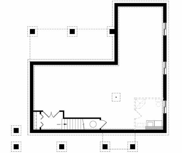 Lower Floor Plan: 5-1380