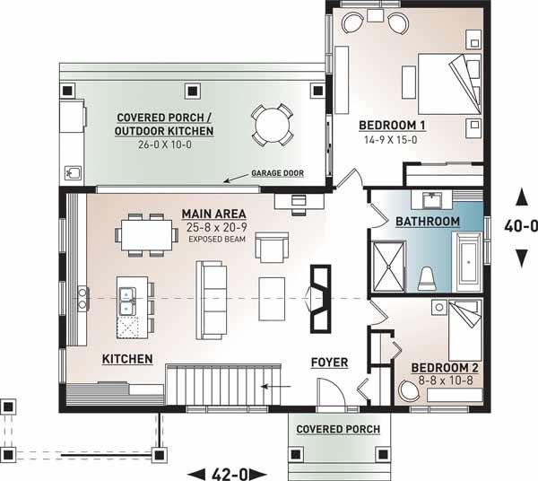 Main Floor Plan: 5-1380