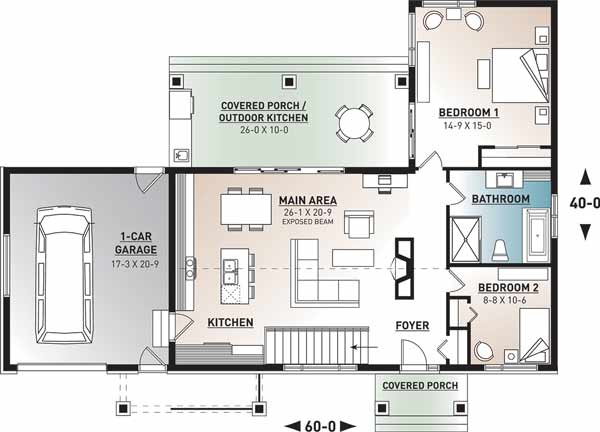 Main Floor Plan: 5-1381
