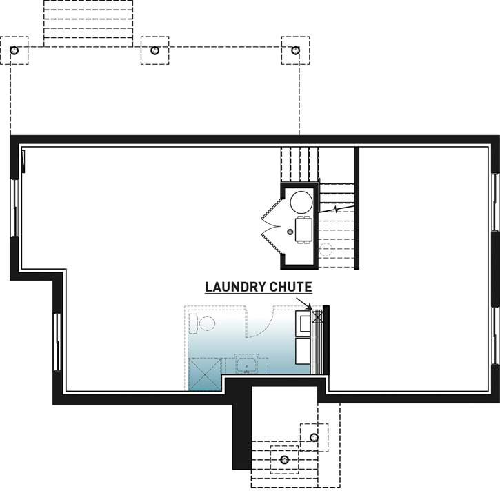 Lower Floor Plan: 5-1384