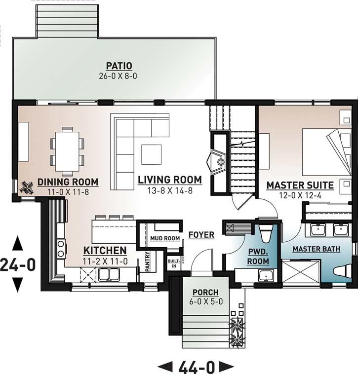 Main Floor Plan: 5-1384