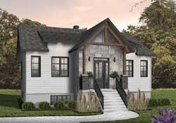 Craftsman Style House Plans Plan: 5-1385