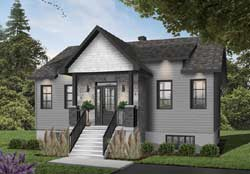 Craftsman Style House Plans Plan: 5-1386