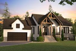 Modern-Farmhouse Style Floor Plans Plan: 5-1391