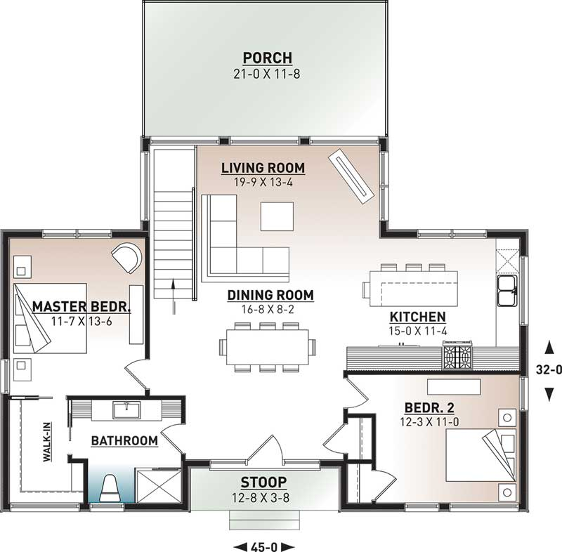 Main Floor Plan: 5-1402