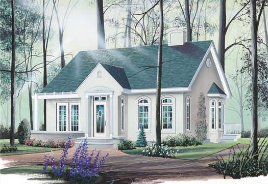 Traditional Style House Plans Plan: 5-142