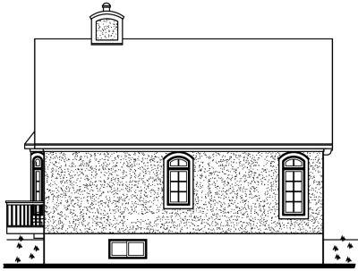 Rear Elevation Plan: 5-142