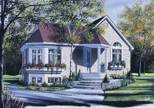 Traditional Style Floor Plans Plan: 5-146