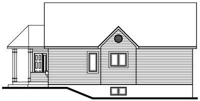 Rear Elevation Plan: 5-146