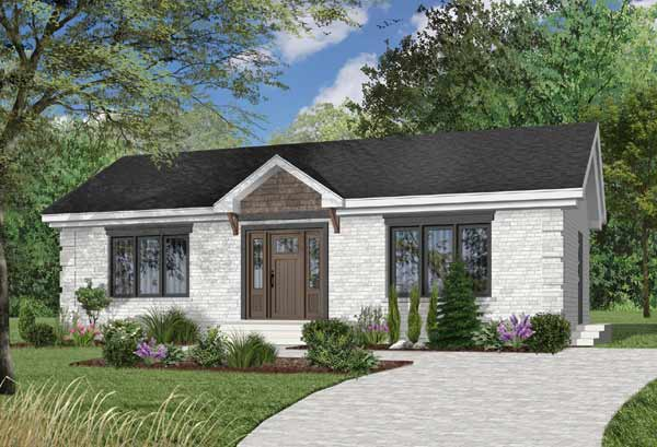 Traditional Style House Plans Plan: 5-148