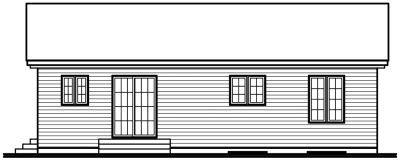 Rear Elevations Plan:5-148