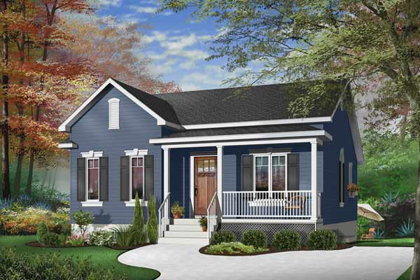 Traditional Style Home Design Plan: 5-149