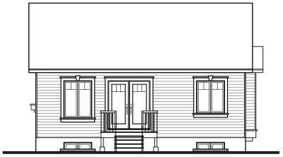 Rear Elevation Plan: 5-149