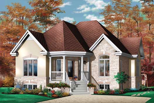 Traditional Style House Plans Plan: 5-151