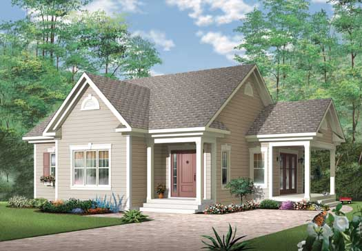 Traditional Style Floor Plans Plan: 5-152