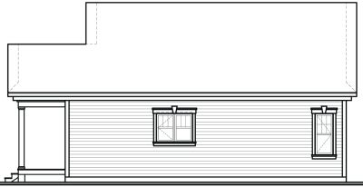 Rear Elevation Plan: 5-152