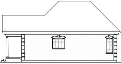 Rear Elevation Plan: 5-154