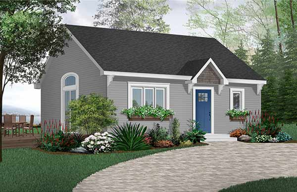 Country Style Floor Plans Plan: 5-155