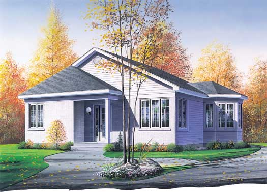 Traditional Style House Plans Plan: 5-157