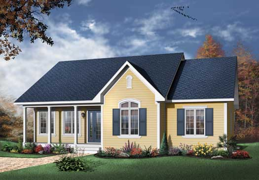 Traditional Style House Plans Plan: 5-158