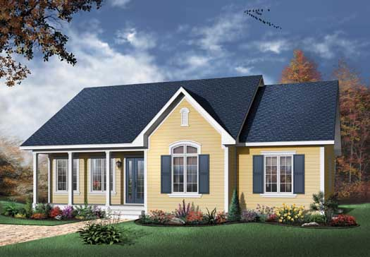 Traditional Style House Plans Plan: 5-160