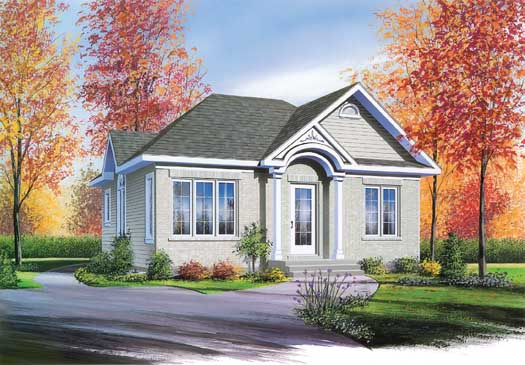 Traditional Style House Plans Plan: 5-161