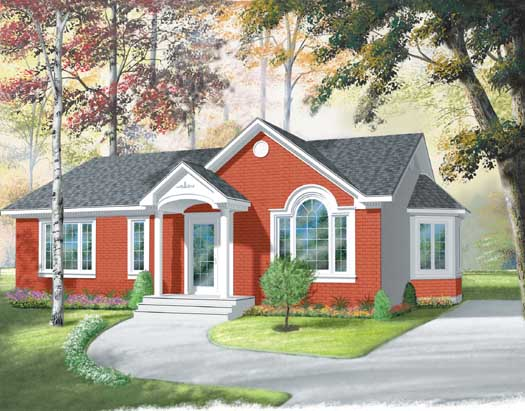 Traditional Style Floor Plans Plan: 5-168