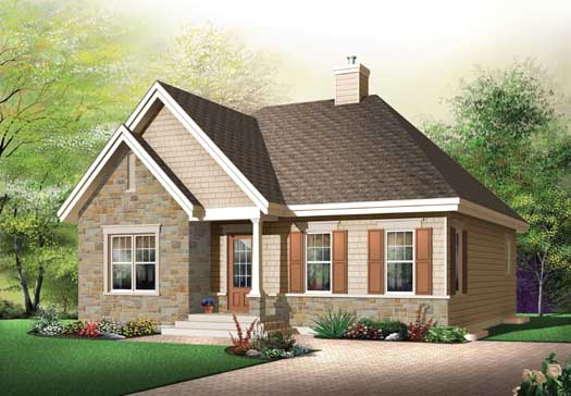 Traditional Style Floor Plans Plan: 5-169