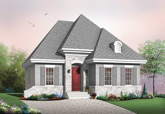 European Style Floor Plans Plan: 5-171
